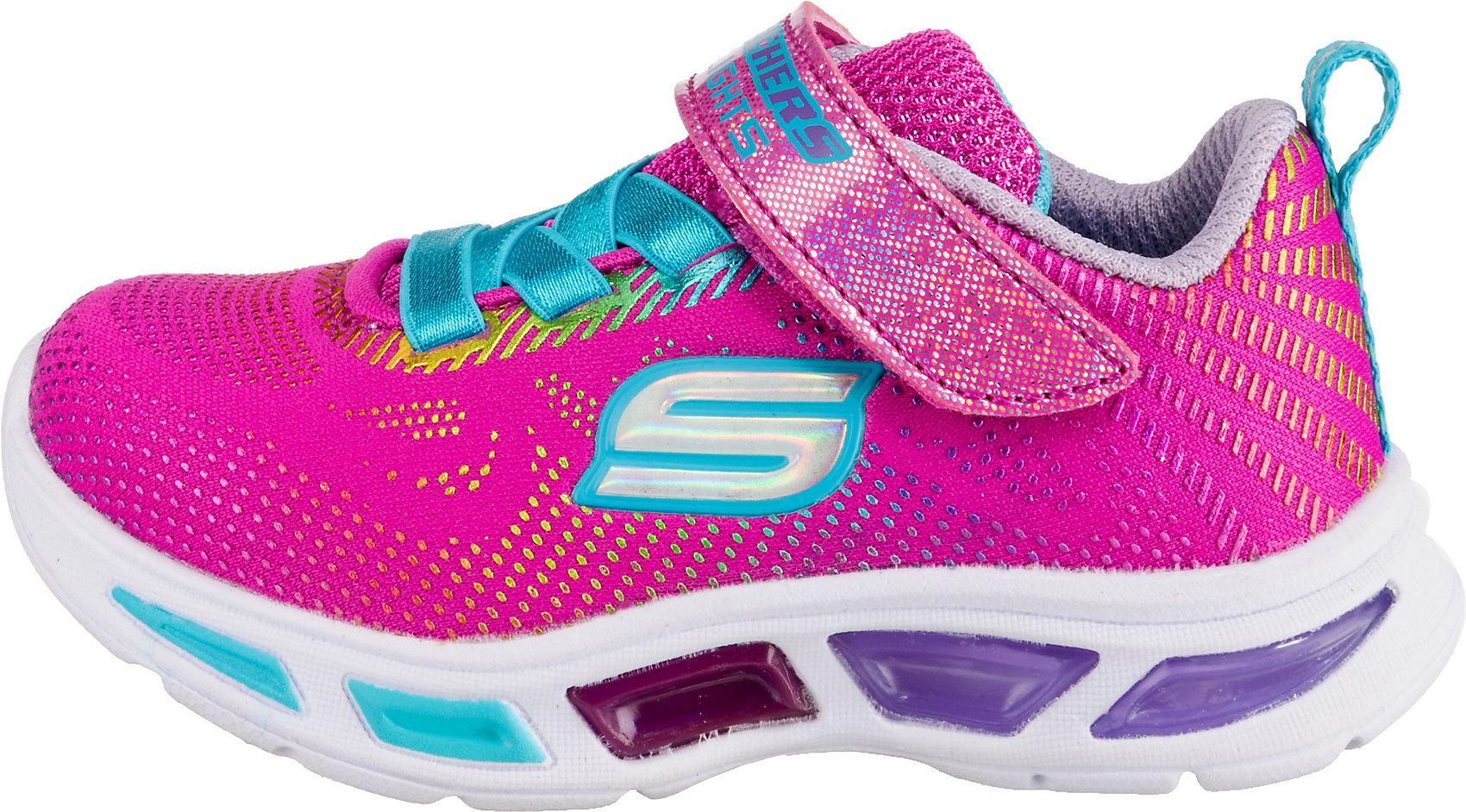 SKECHERS, Sneakers Low Blinkies LITEBEAMS GLEAM N' DREAM für Mädchen, schwarz