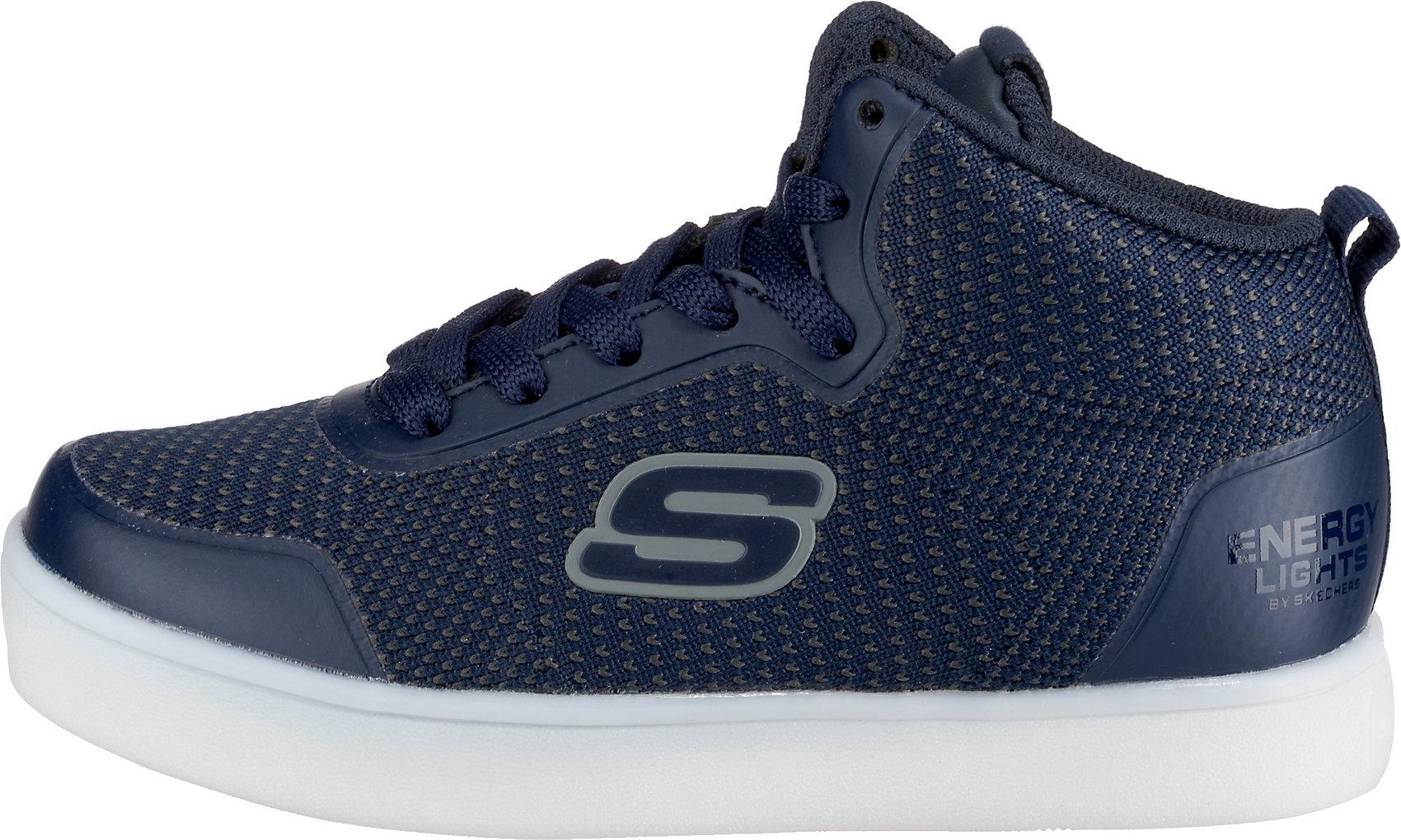 Details zu Neu SKECHERS Kinder Sneakers High Blinkies ENERGY LIGHTS HALATION 10321760