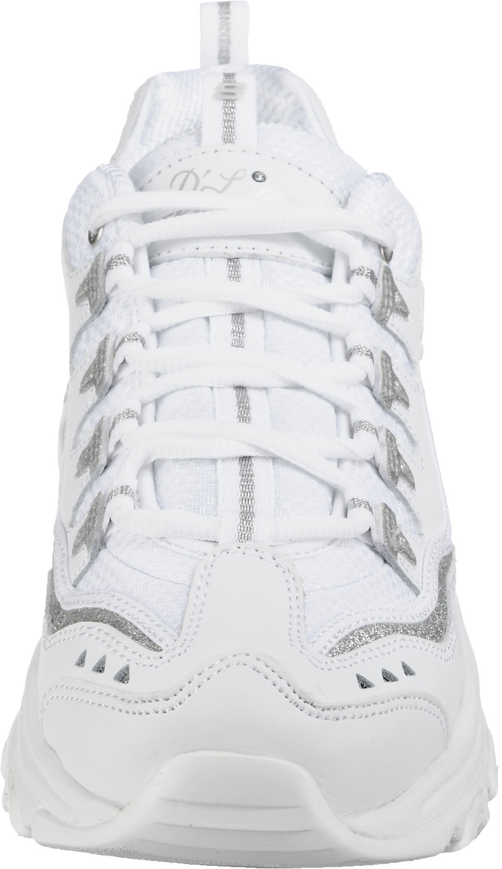 SKECHERS, D'LITES NOW & THEN Sneakers Low, weiß
