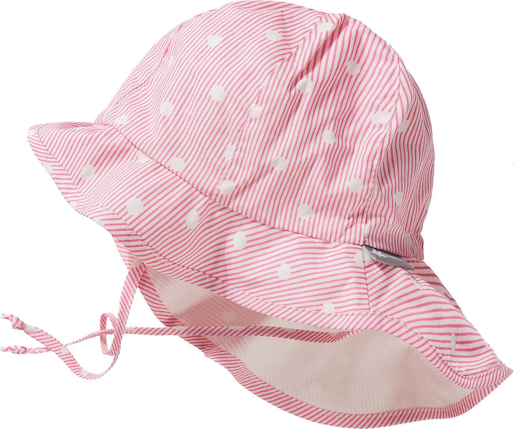 neuer Stil bis zu 80% sparen spätester Verkauf Details zu Neu Sterntaler Sonnenhut mit UV-Schutz 30zum Binden mit  Nackenschutz für Mädchen