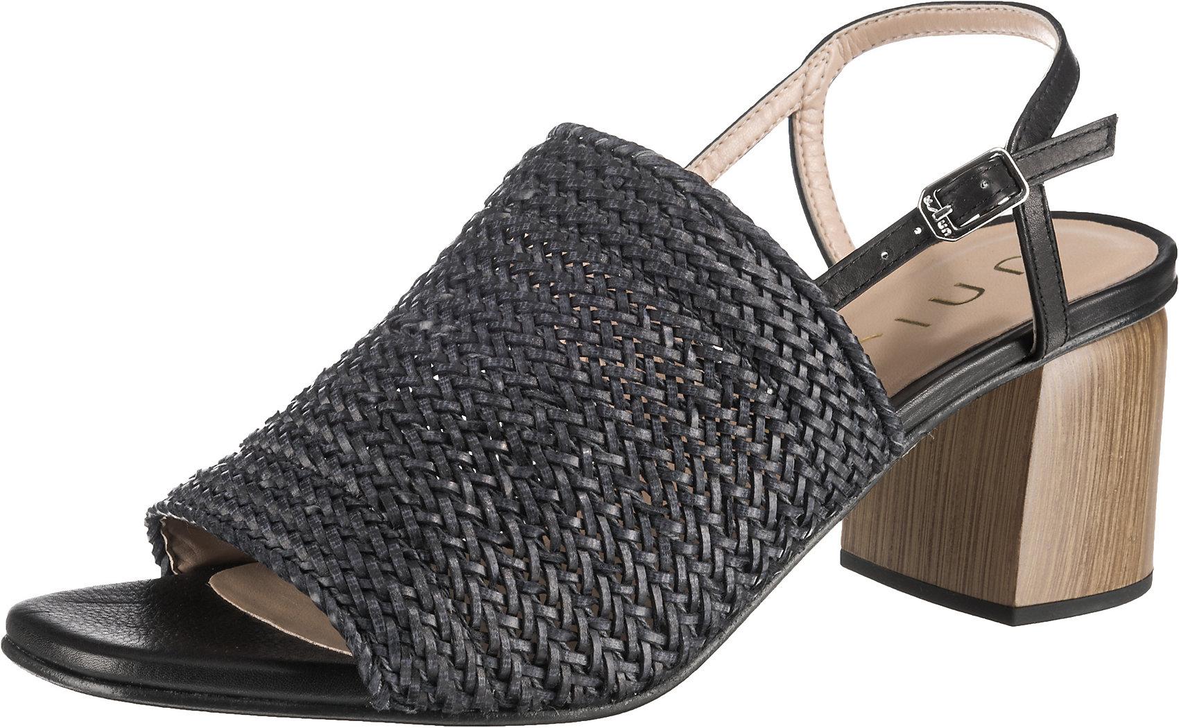 Details zu Neu Unisa Klassische Sandaletten 10492443 für Damen schwarz khaki