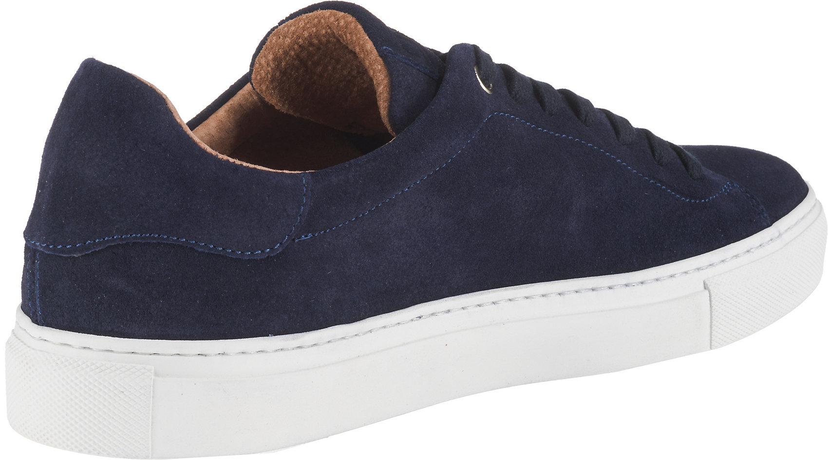 Details zu Neu CINQUE 51011 Sneakers Low 10536330 für Herren dunkelblau beige