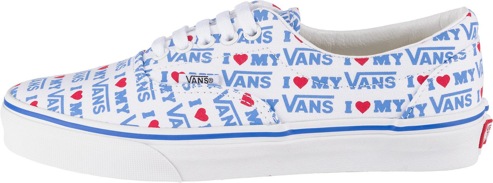 Details zu Neu VANS UA Era Sneakers Low 10648411 creme pink schwarz türkis gelb
