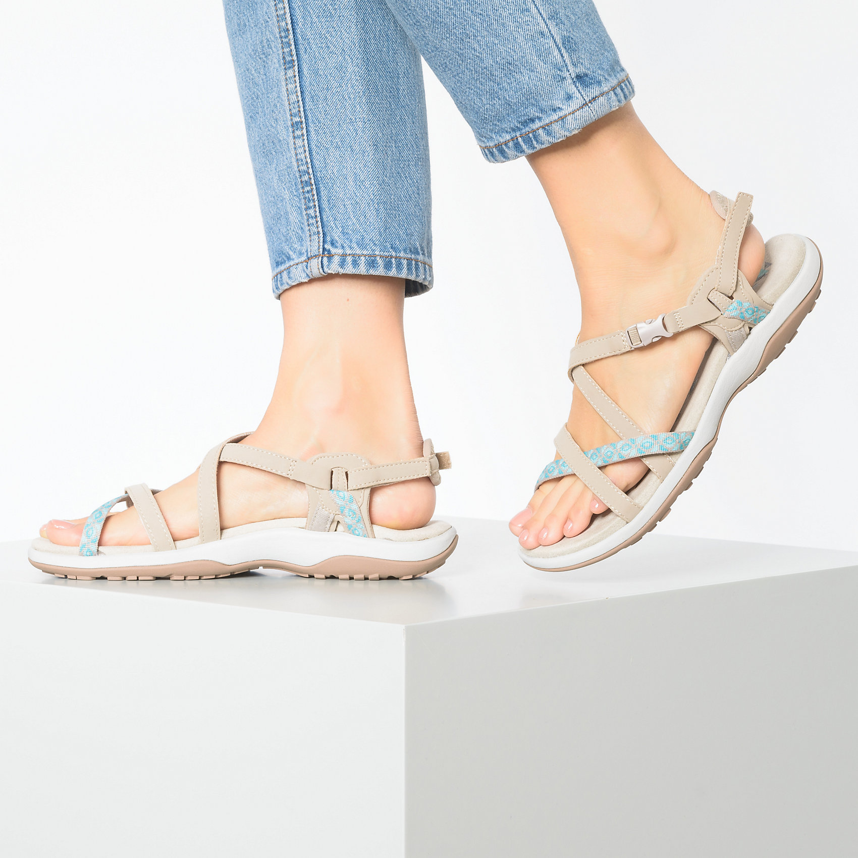 Details about Skechers Women's On the GO 600 Brilliancy Ankle Strap Sandal