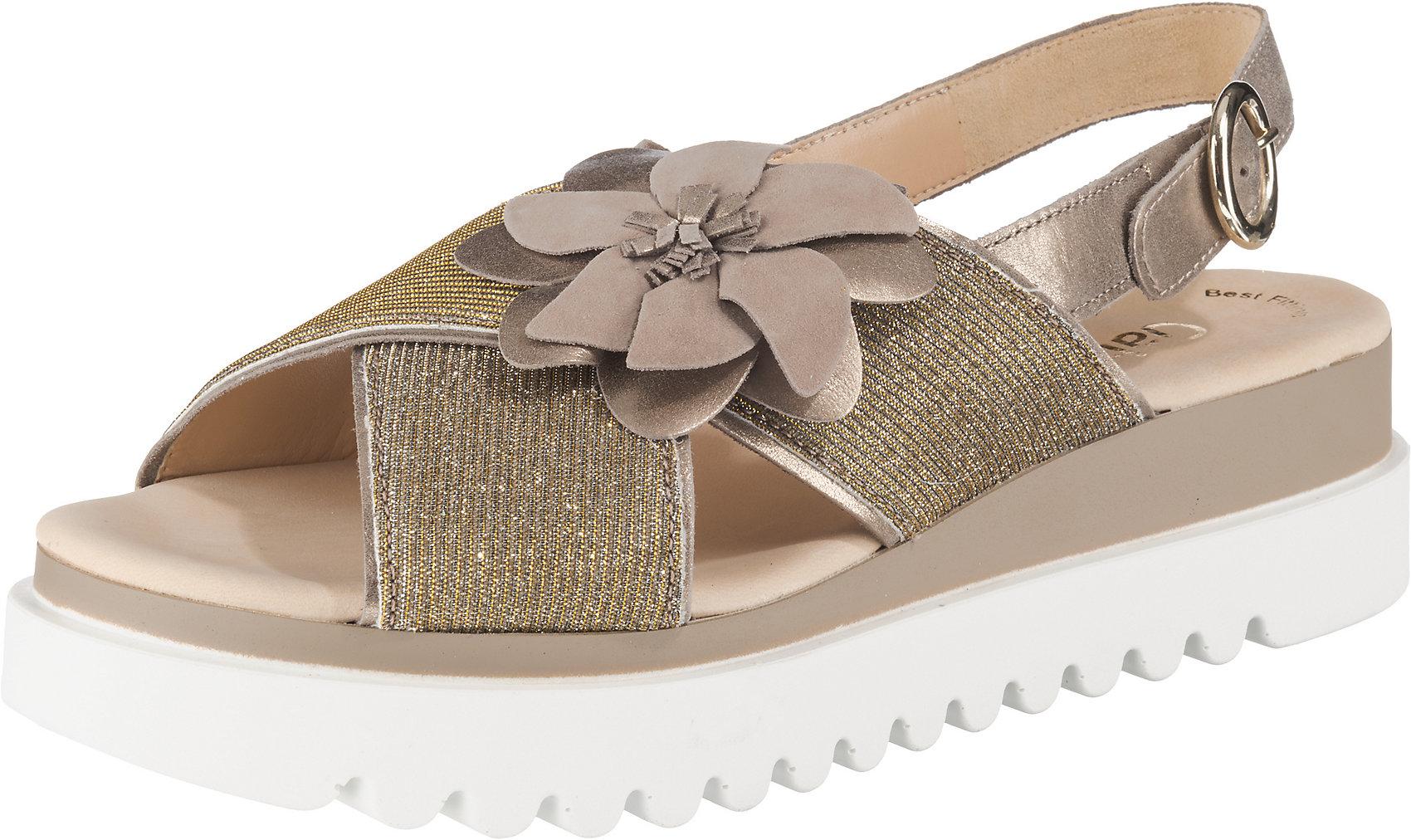 Details zu Neu Gabor Klassische Sandalen 10748283 für Damen gold