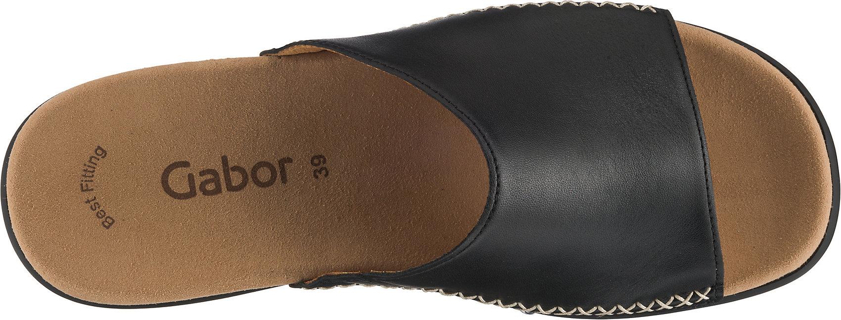 Neu-Gabor-Pantoletten-10749929-fuer-Damen-schwarz Indexbild 7
