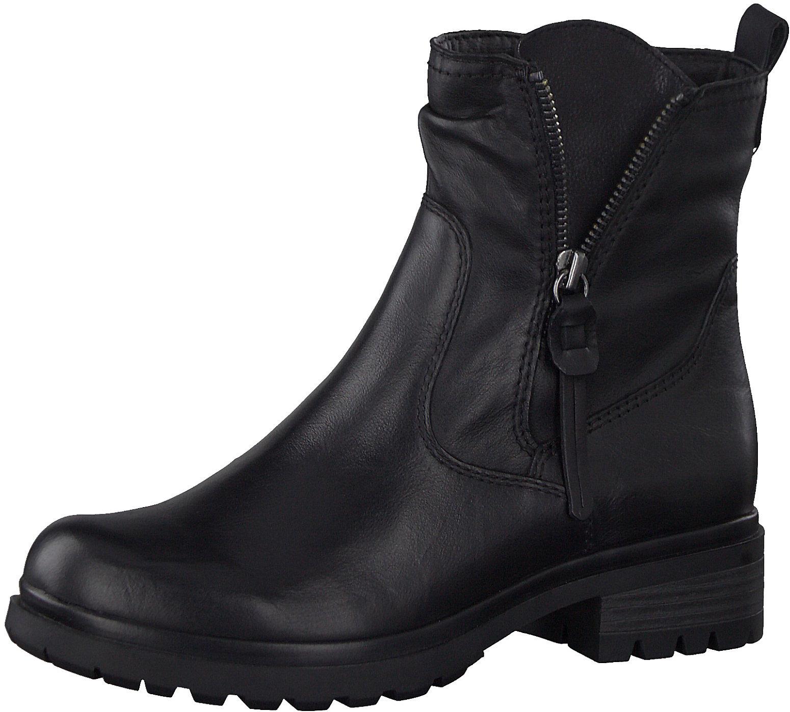 Details zu Neu Tamaris Klassische Stiefeletten 11409324 für Damen schwarz braun