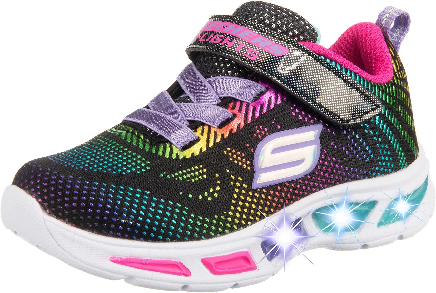 Details zu Neu SKECHERS Sneakers Low Blinkies LITEBEAMS GLEAM N' DREAM für Mädchen 10321544