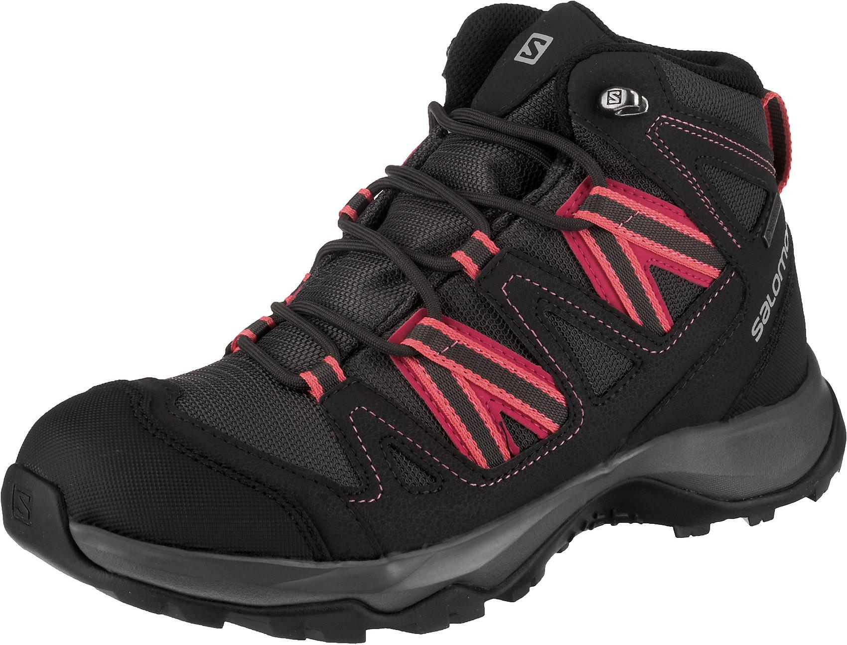 Salomon Tibai Mid GTX W Outdoor Wanderschuhe Damen Stiefel Women Schuhe 399259