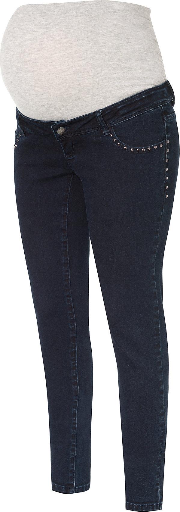 MAMALICIOUS Damen Mlmain Straight Jeans A Umstandshose