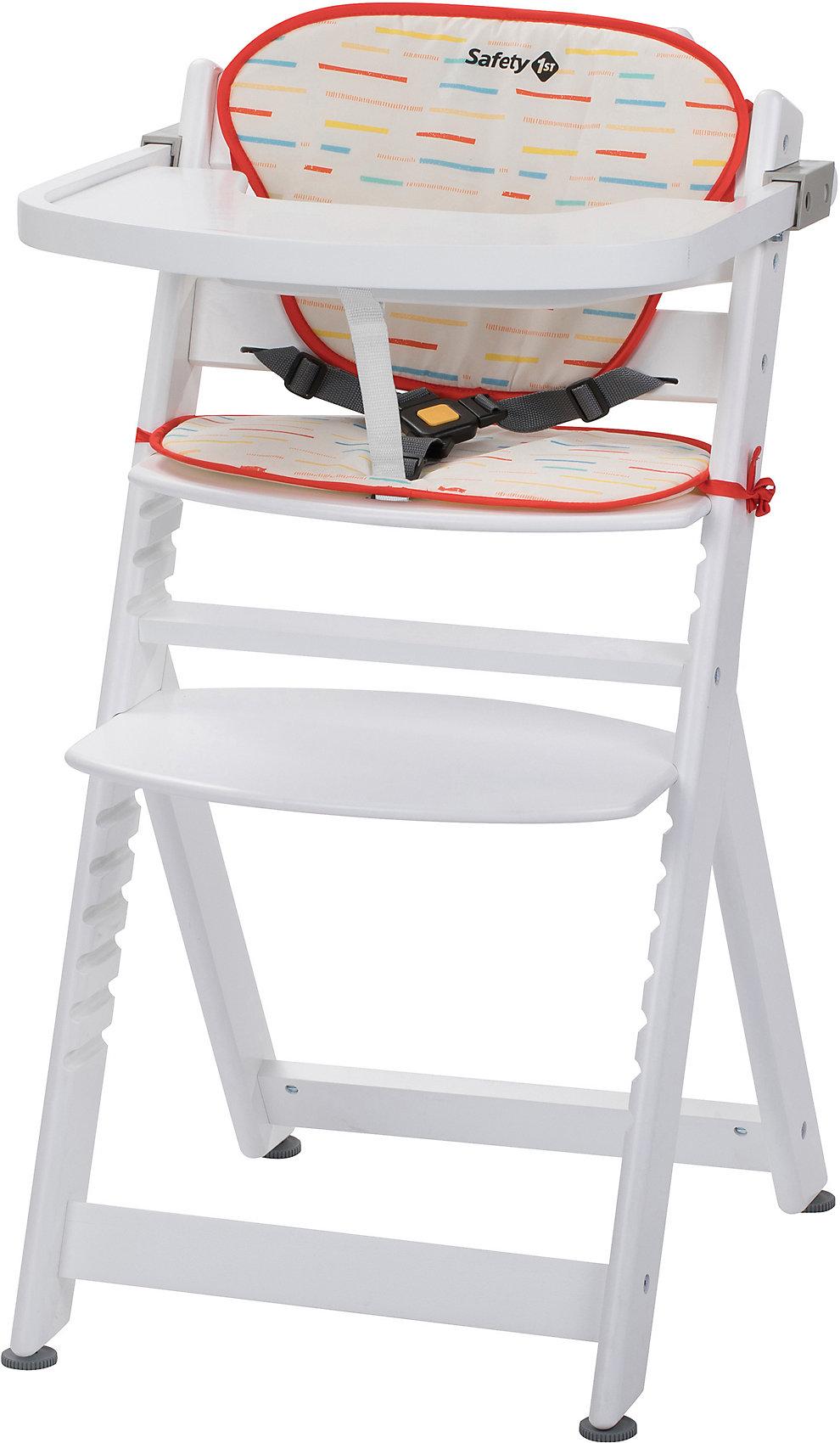 Sitzkissen für Hochstuhl Timba  NEU Weiß//Mehrfarbig