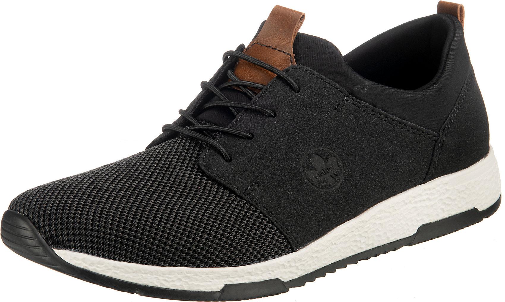 Indexbild 8 - Neu rieker Sneakers Low 12842477 für Herren schwarz