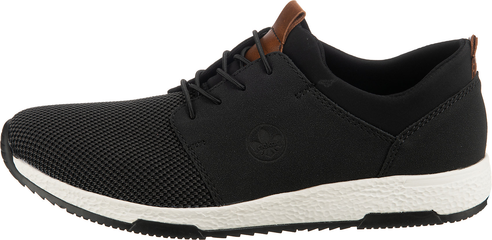 Indexbild 9 - Neu rieker Sneakers Low 12842477 für Herren schwarz