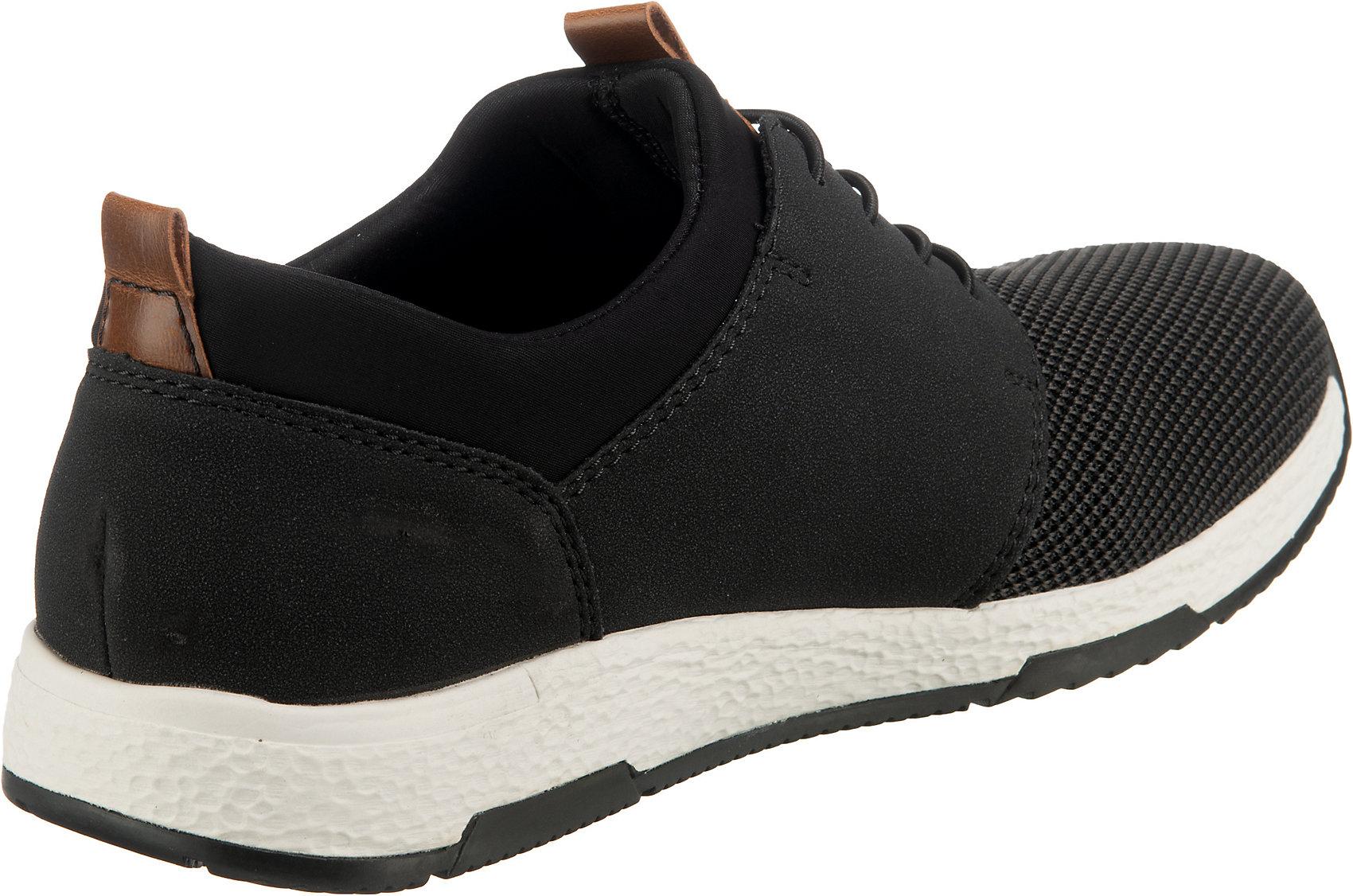 Indexbild 5 - Neu rieker Sneakers Low 12842477 für Herren schwarz