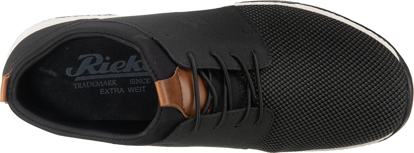 Indexbild 12 - Neu rieker Sneakers Low 12842477 für Herren schwarz