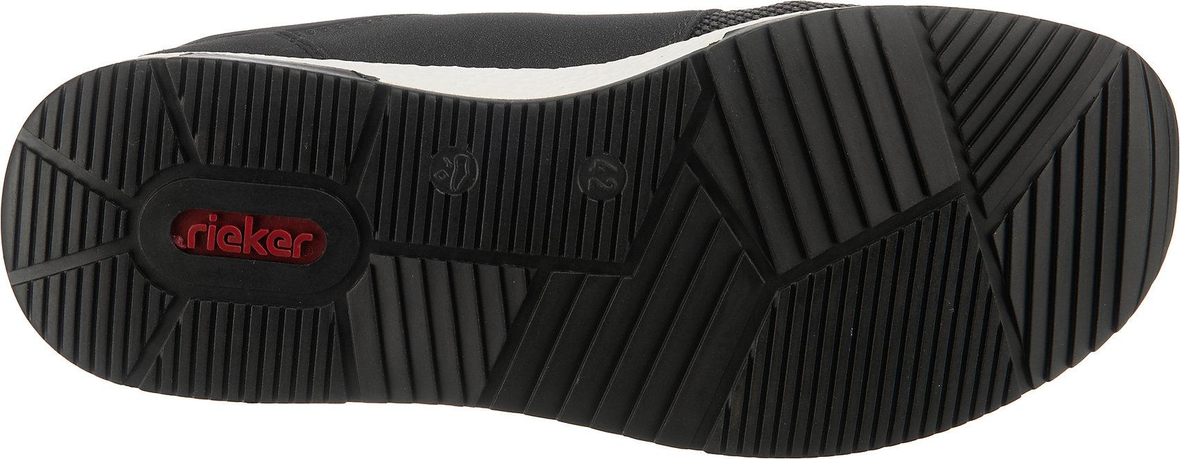 Indexbild 13 - Neu rieker Sneakers Low 12842477 für Herren schwarz