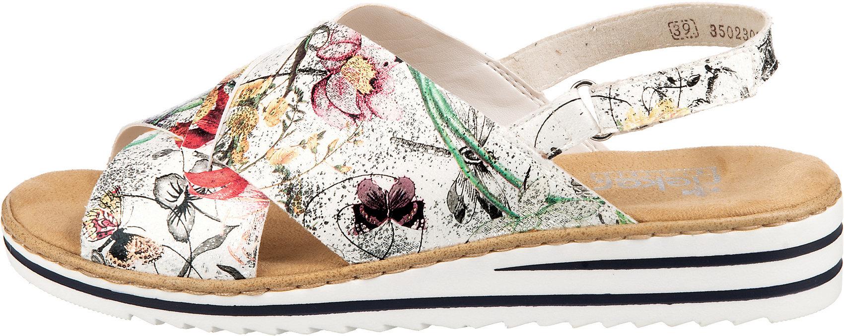 rieker, Klassische Sandalen, bunt | mirapodo
