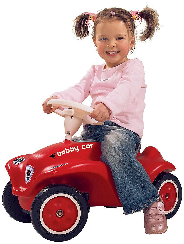 Neu BIG NEW Bobby Car Car Car rot 6070456 rot hellblau 88f1a7