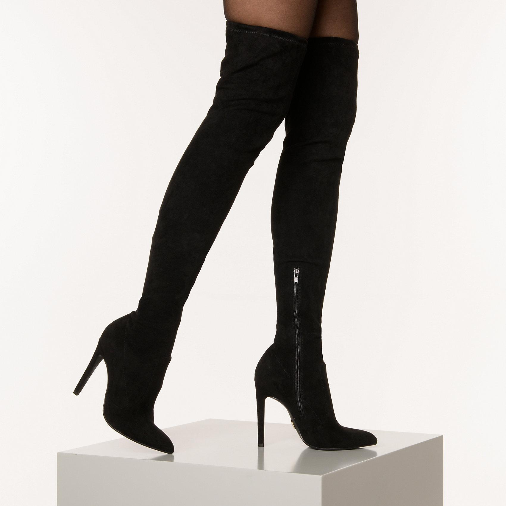Neu BUFFALO Marjorie Overknee-Stiefel 14876475 für Damen