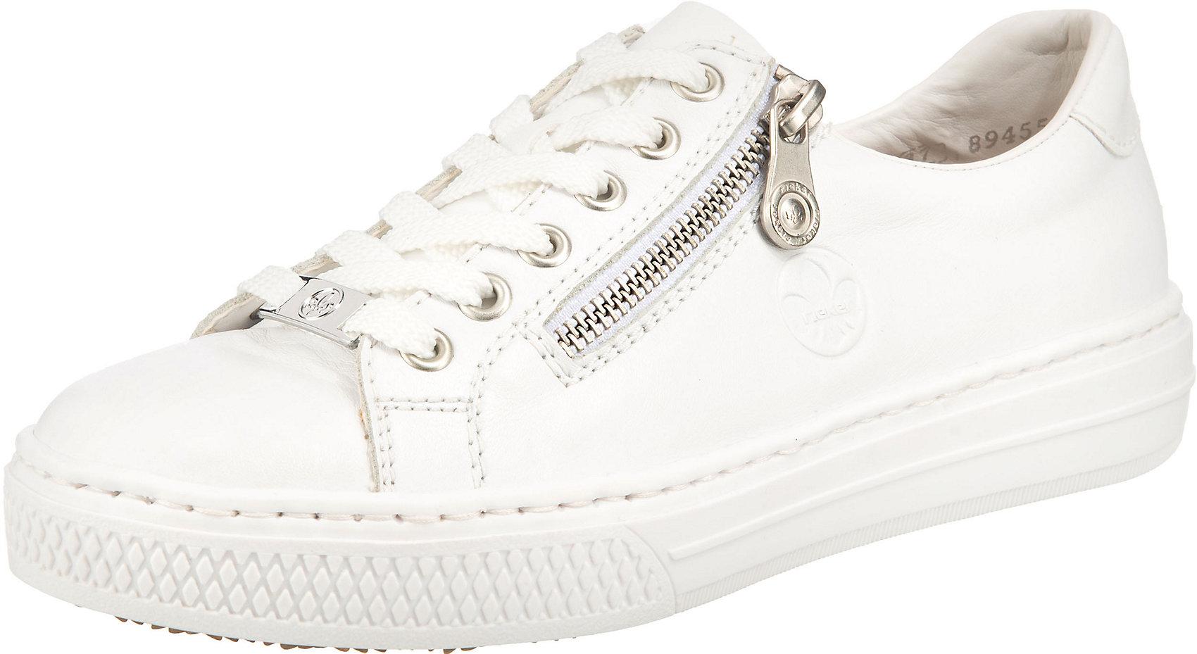 Indexbild 8 - Neu rieker Sneakers Low 17444045 für Damen weiß