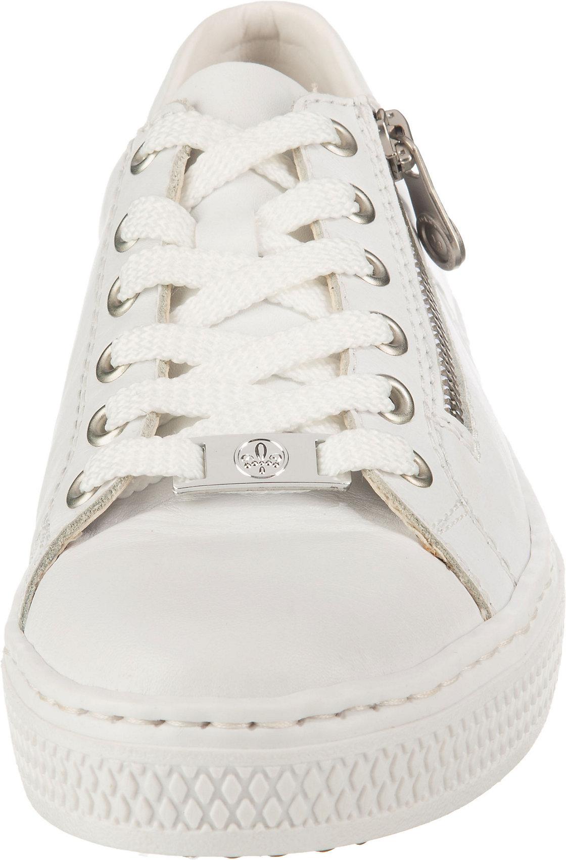 Indexbild 4 - Neu rieker Sneakers Low 17444045 für Damen weiß