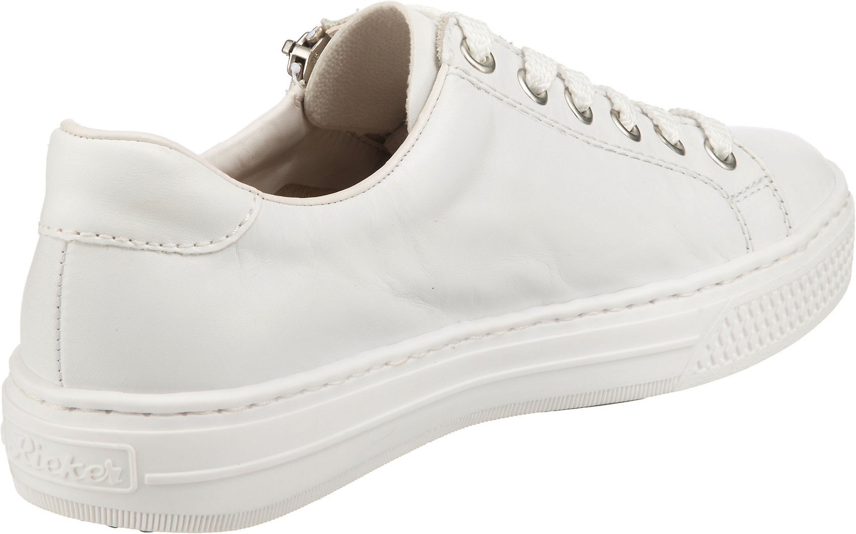 Indexbild 5 - Neu rieker Sneakers Low 17444045 für Damen weiß