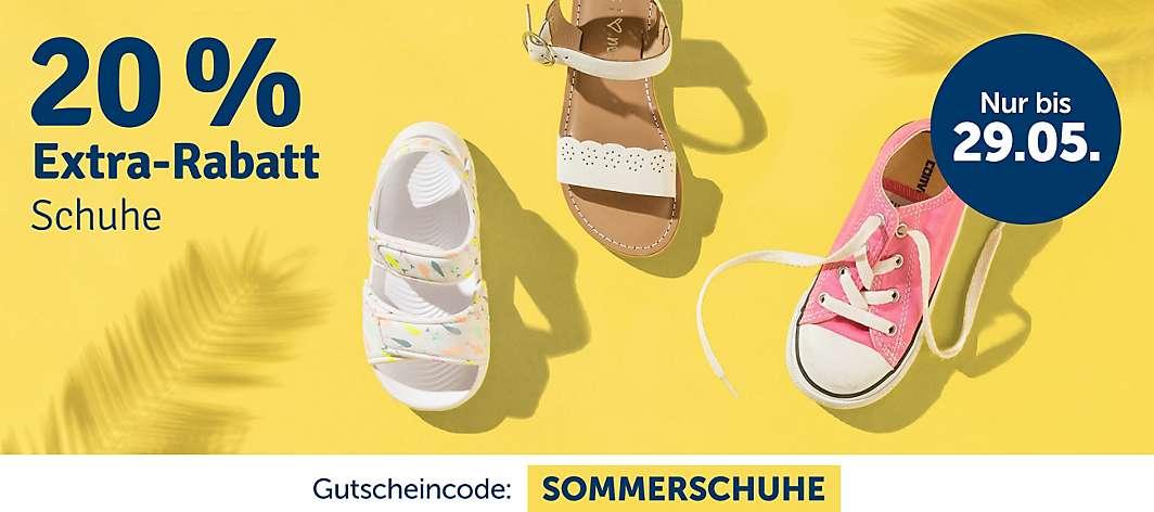 quality design cfaf7 8af87 20% Extra-Rabatt Schuhe
