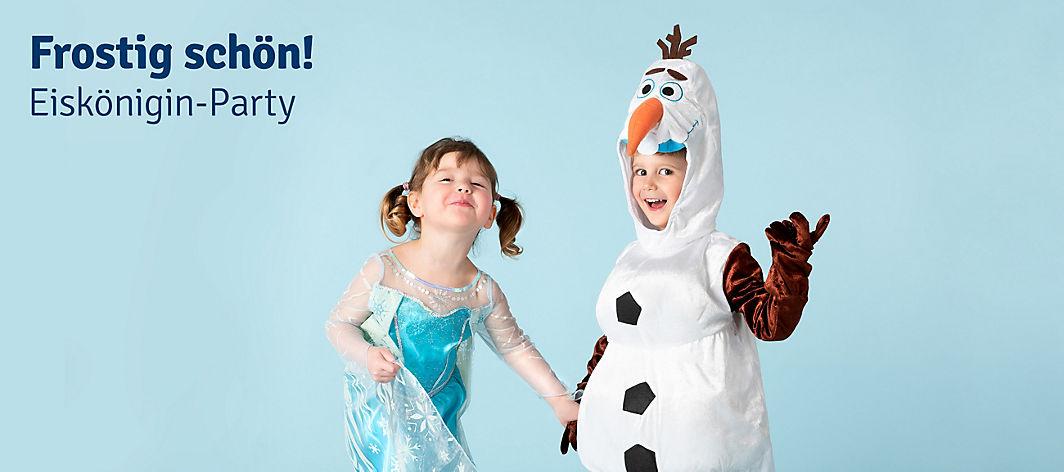 Eiskönigin Party Frozen Party Spiele Deko Bastelideen