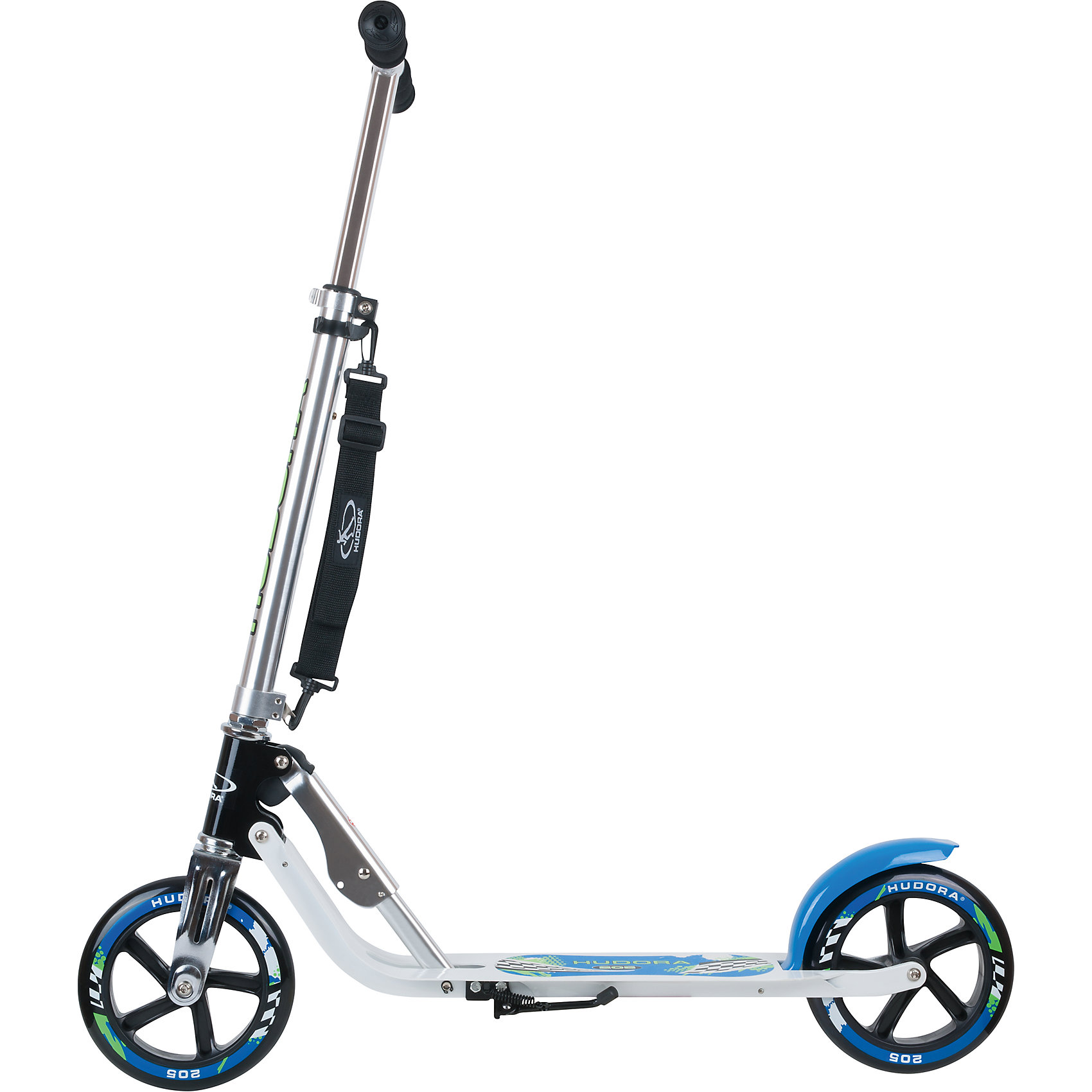 Indexbild 6 - Neu Hudora Scooter Big Wheel 205 mm, pink/schwarz 6071773 pink blau