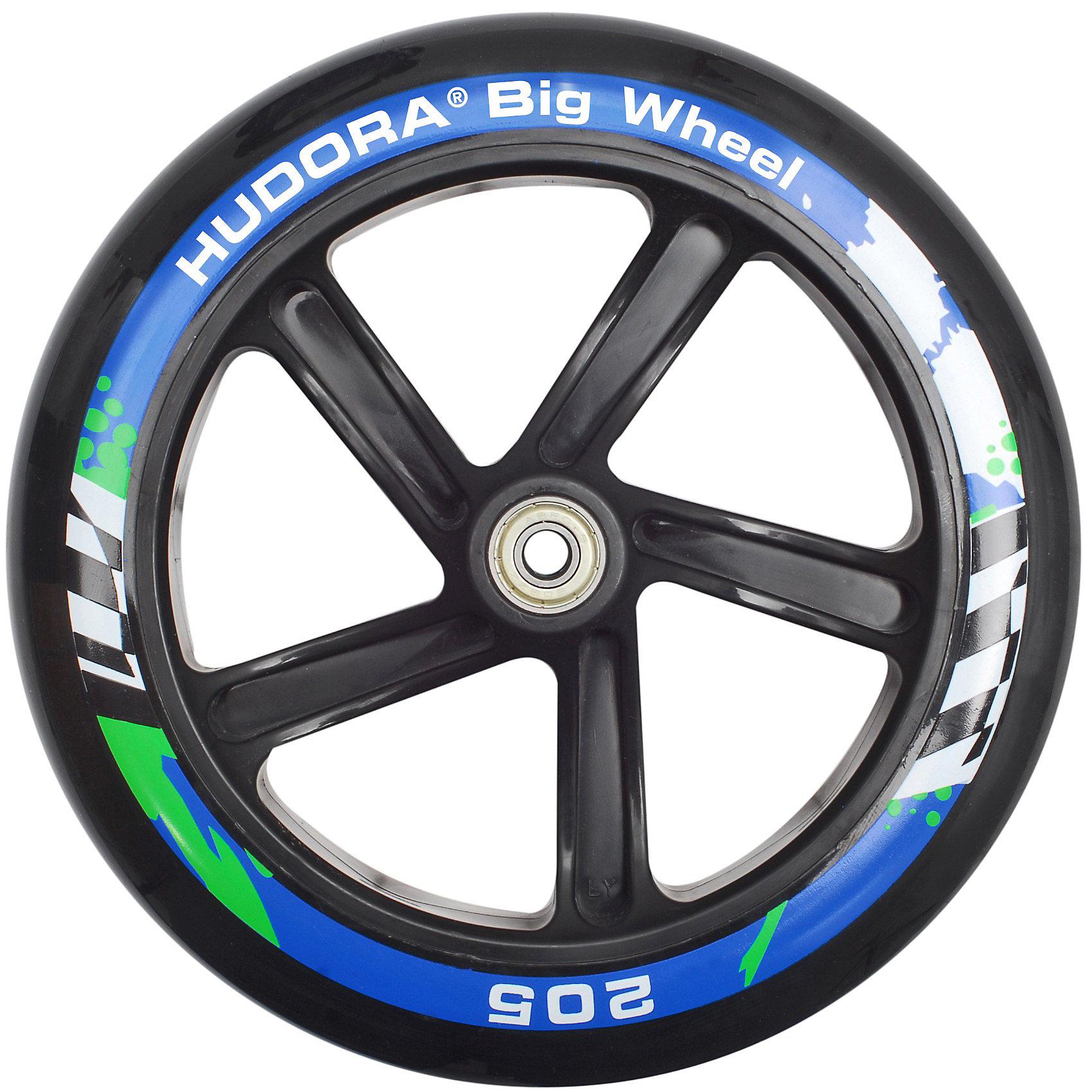 Indexbild 7 - Neu Hudora Scooter Big Wheel 205 mm, pink/schwarz 6071773 pink blau