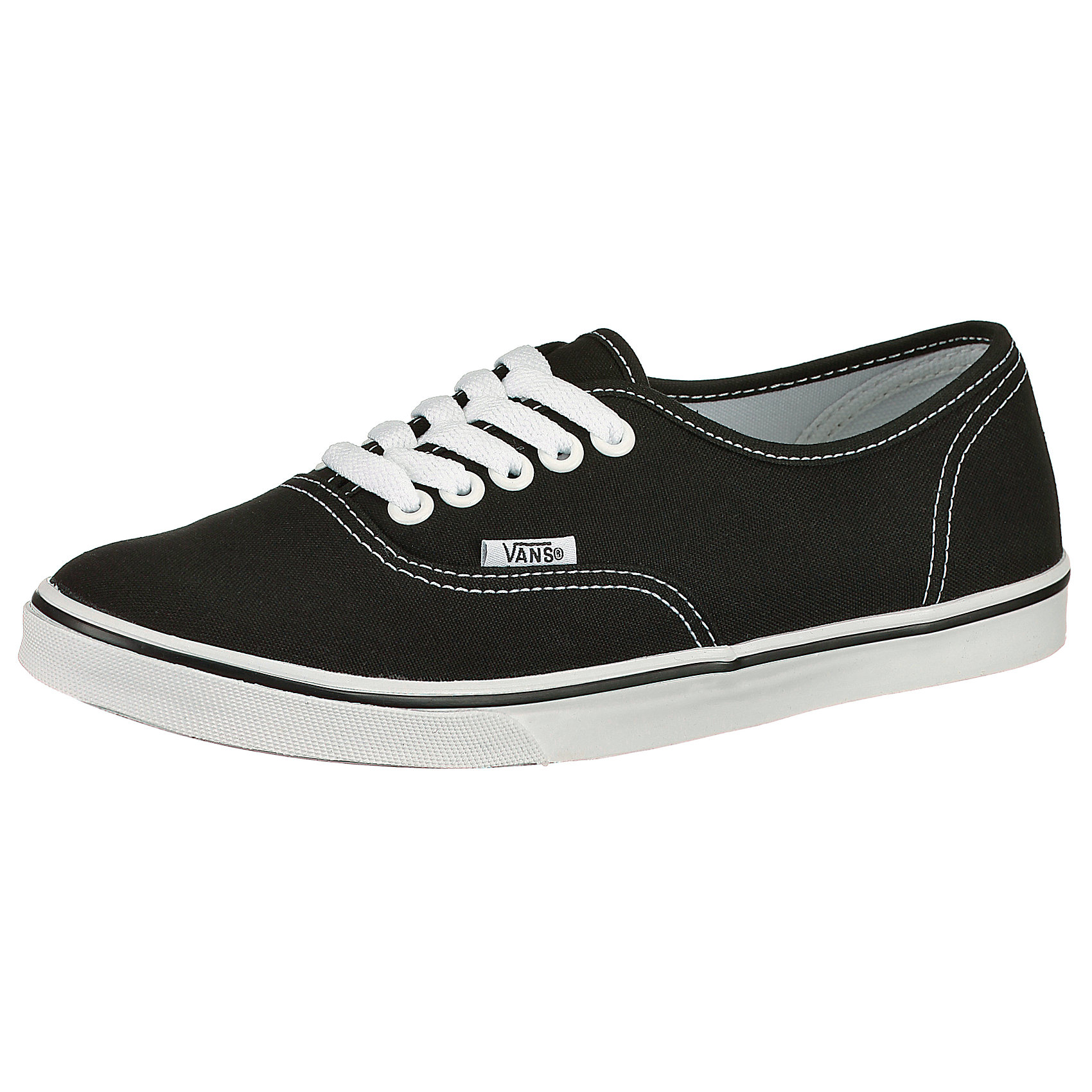Details zu Neu VANS Authentic Lo Pro Sneakers 5009540 für Damen schwarz dunkelblau