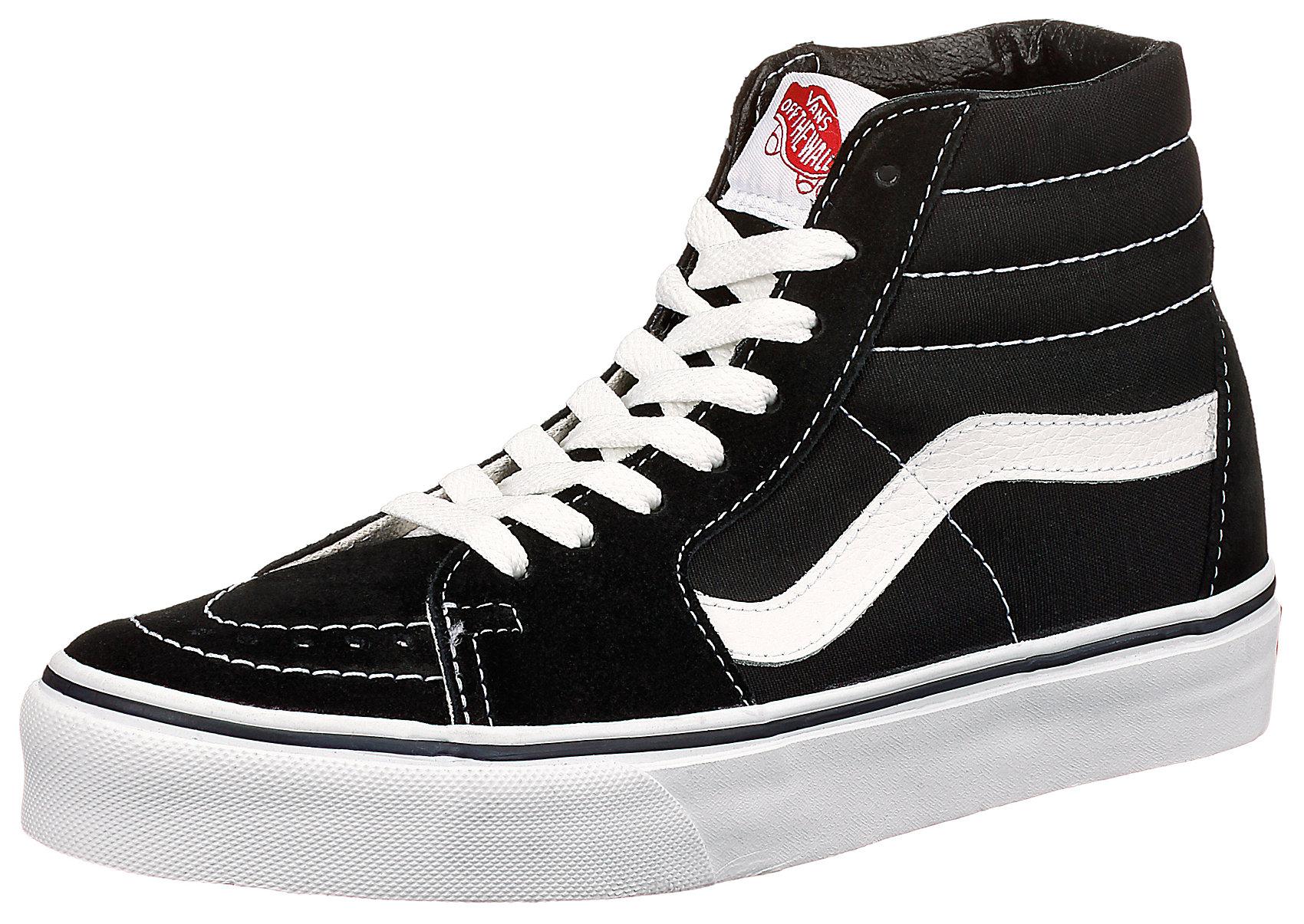 Details zu Neu VANS Ua Sk8 hi Sneakers High 5711074 für Herren und Damen schwarz