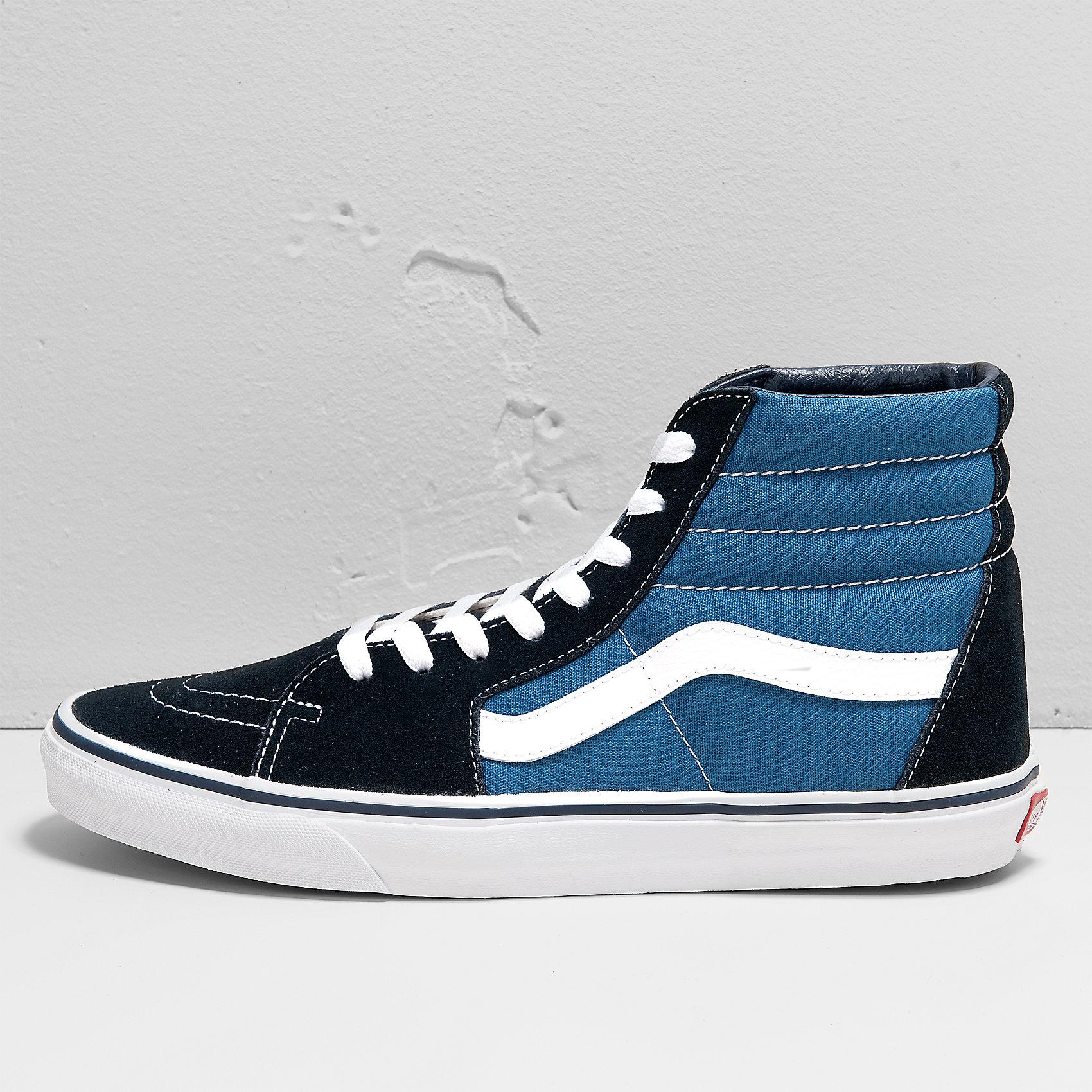 Vans Ua Sk8-Hi Damen 40,5 Blau