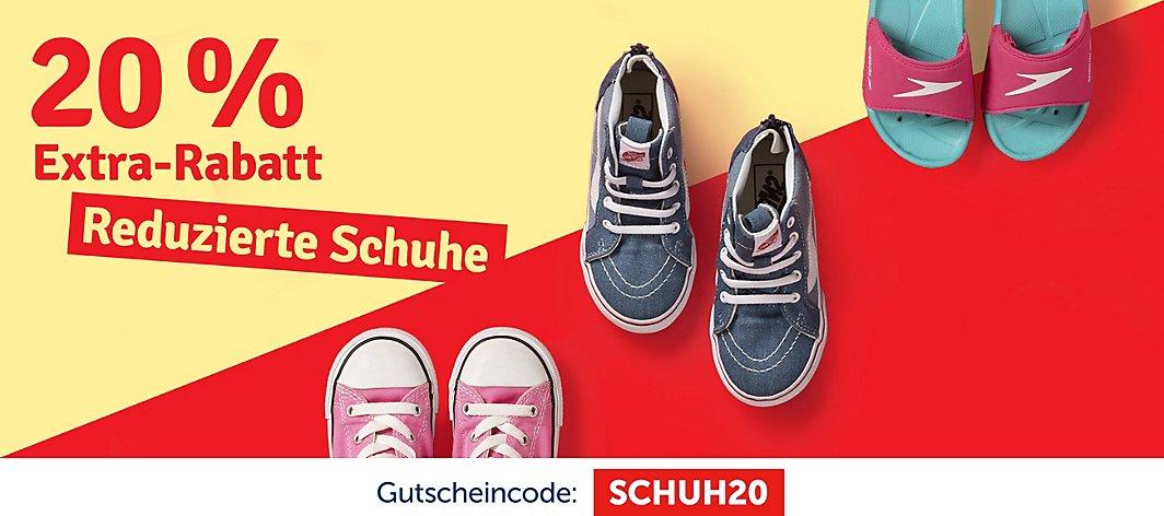 b73a24dedf 20% Extra-Rabatt auf reduzierte Schuhe