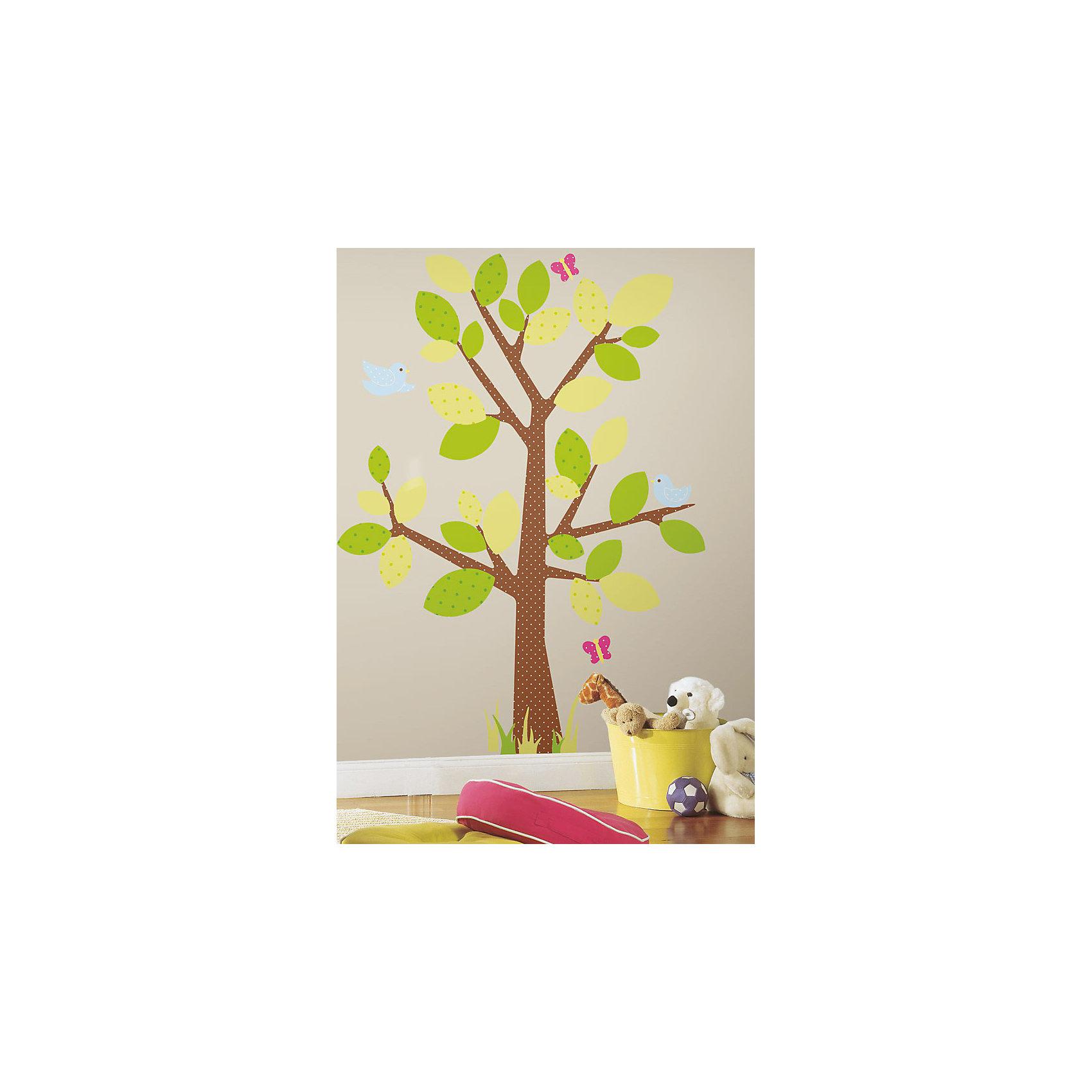 Schön Wandsticker Baum Galerie Von Neu-roommates-wandsticker-baum-kids-47-tlg-5139800-