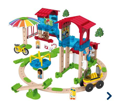 Wunder Werker: Schule mit Spielplatz