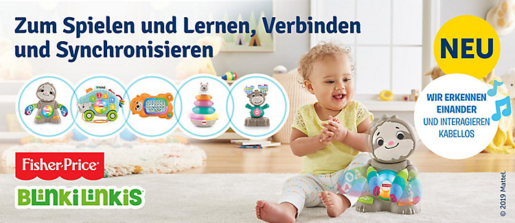 Fisher Price Binki Linki