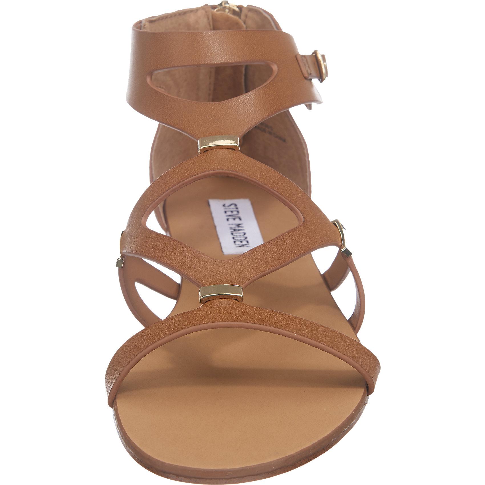 Neu Steve Madden Comma Sandaletten 5745221 für Damen cognac