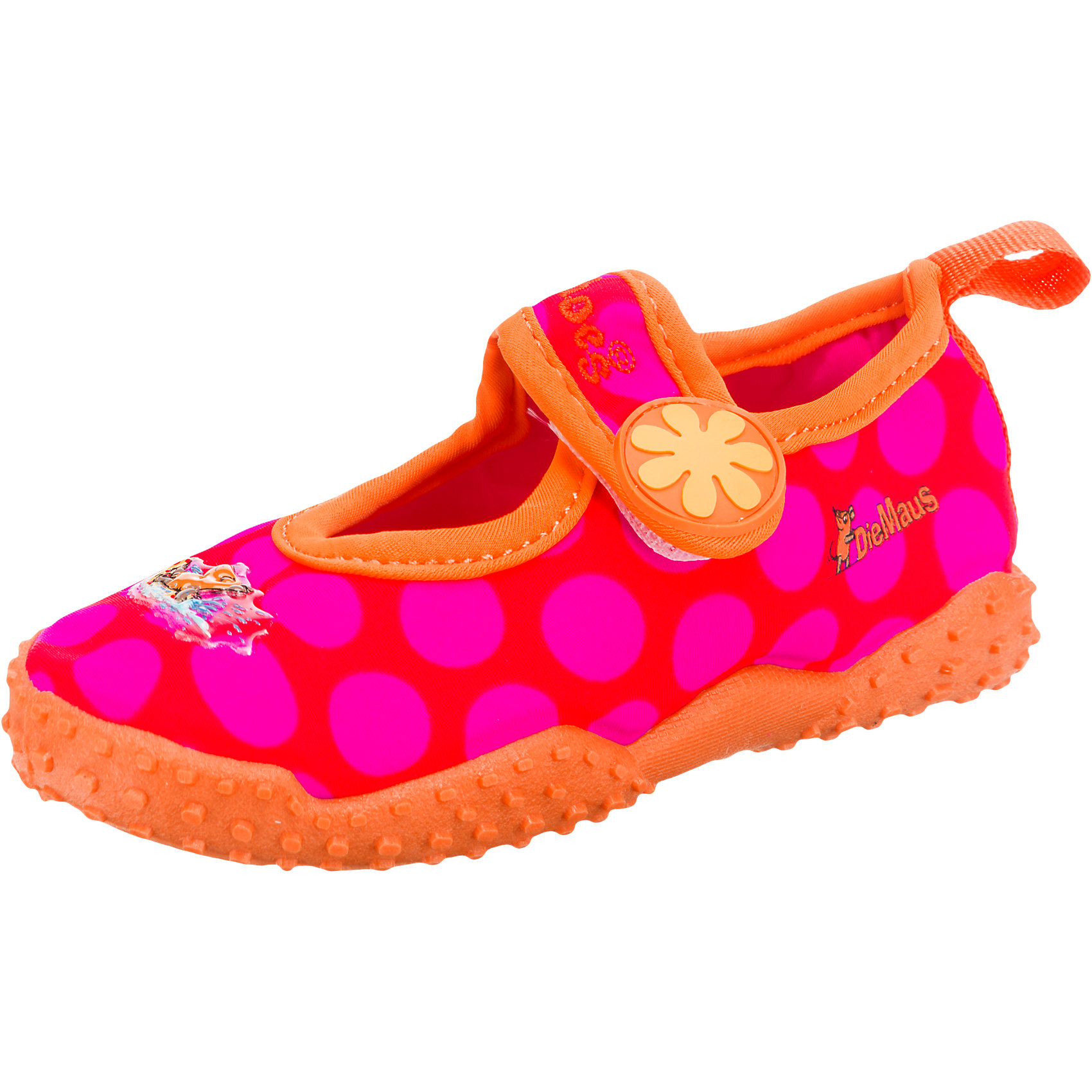 Neu-Playshoes-Baby-Aquaschuhe-mit-UV-Schutz-DIE-MAUS-fuer-Maedchen-6018551