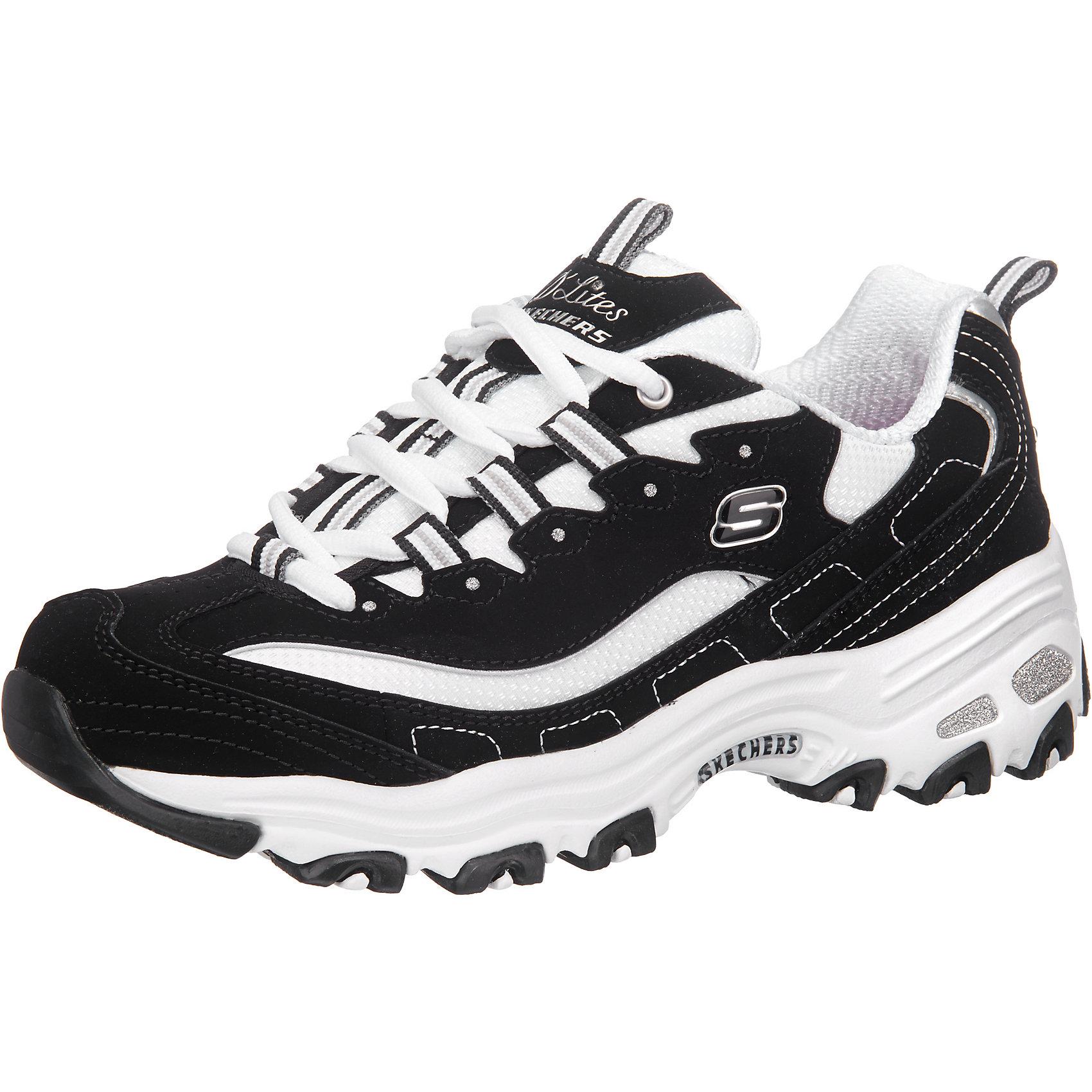 SKECHERS, D'LITES BIGGEST FAN Sneakers Low, grau kombi