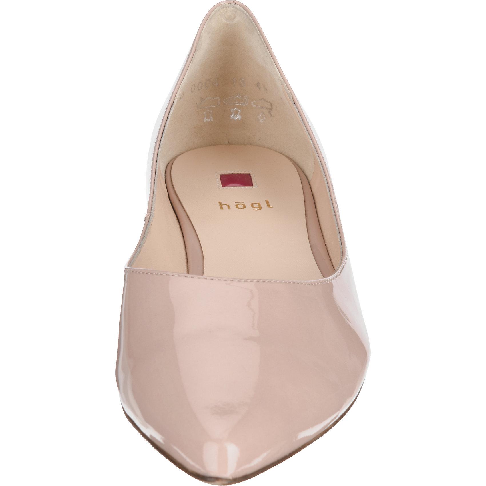 Neu Neu Neu högl Softlack Klassische Ballerinas 5758316 für Damen nude 27465c