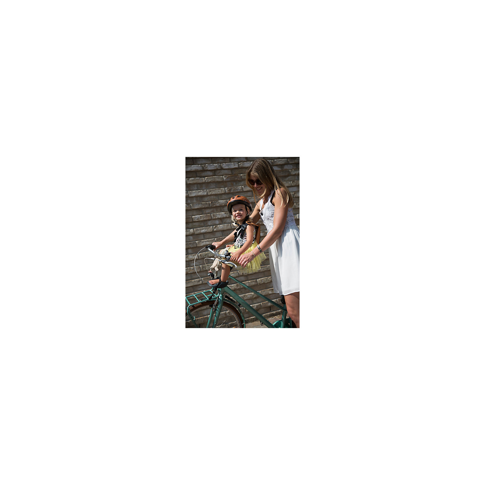 Neu bobike bobike bobike Fahrrad-Sicherheitssitz Mini ONE, front, Sky Blau 5140303 8e0a37