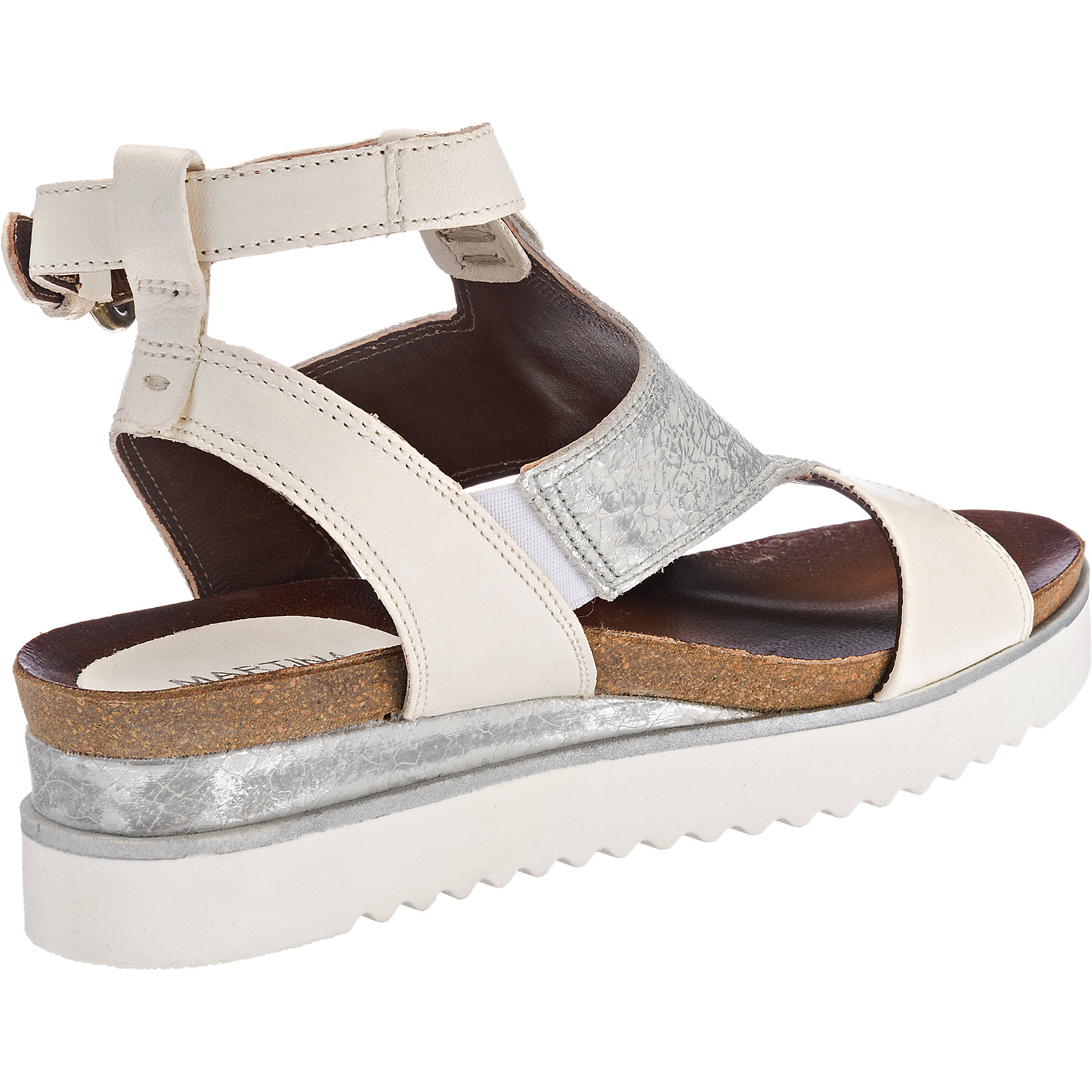 Neu Martina Buraro Spak Sandaletten 5765542 für Damen weiß-kombi weiß-kombi Damen schwarz 5eb442