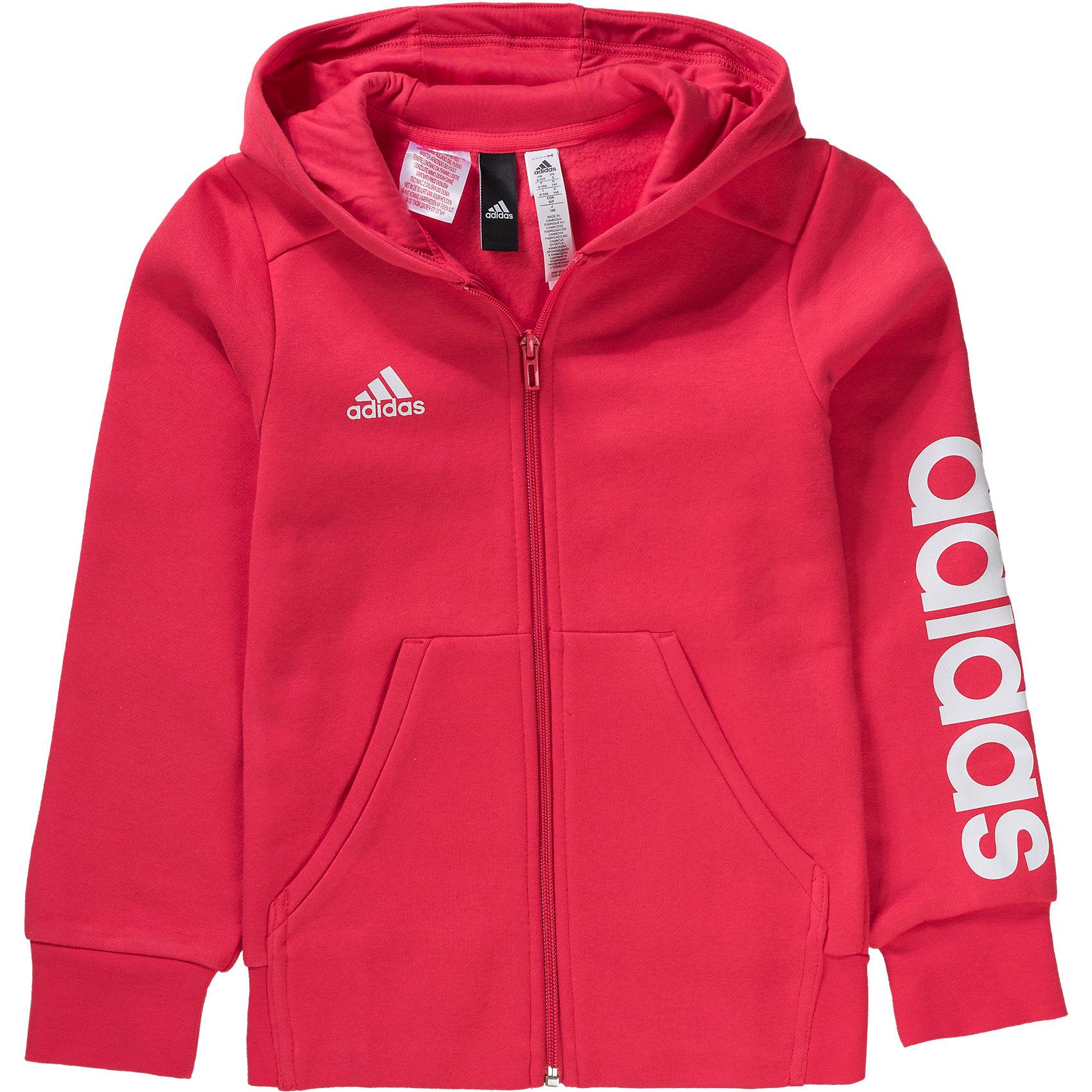 Details zu Neu adidas Performance Sweatjacke für Mädchen 5808710 für Mädchen pink
