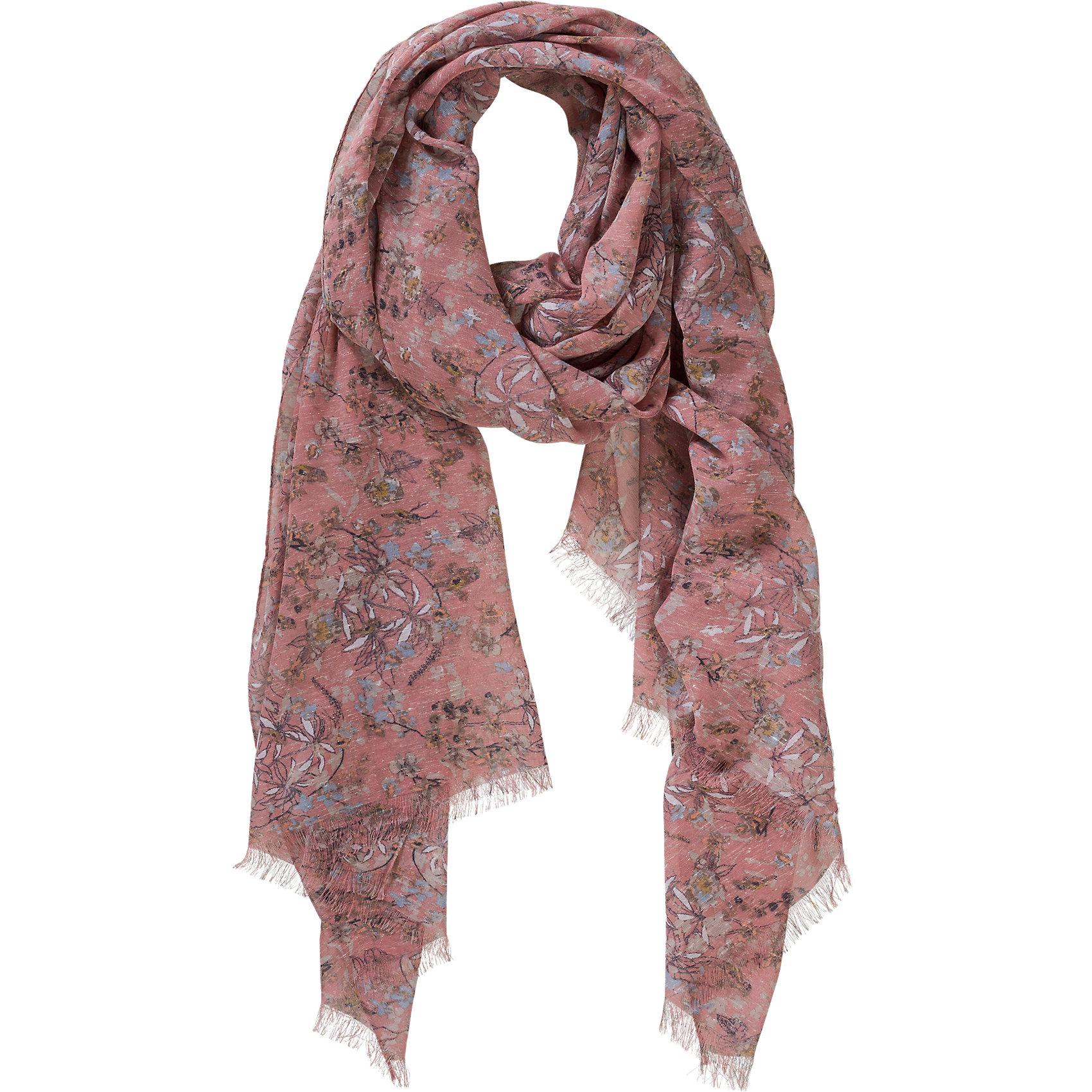 Neu-TOM-TAILOR-Schal-5117678-fuer-Damen-rosa