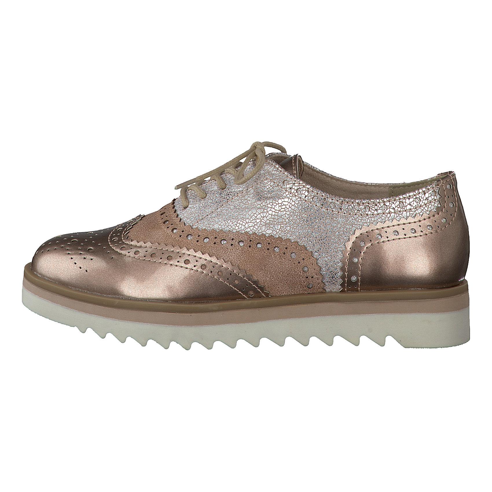 sports shoes d4e69 8ae6a Details zu Neu MARCO TOZZI Loka Halbschuhe 5765805 für Damen kupfer