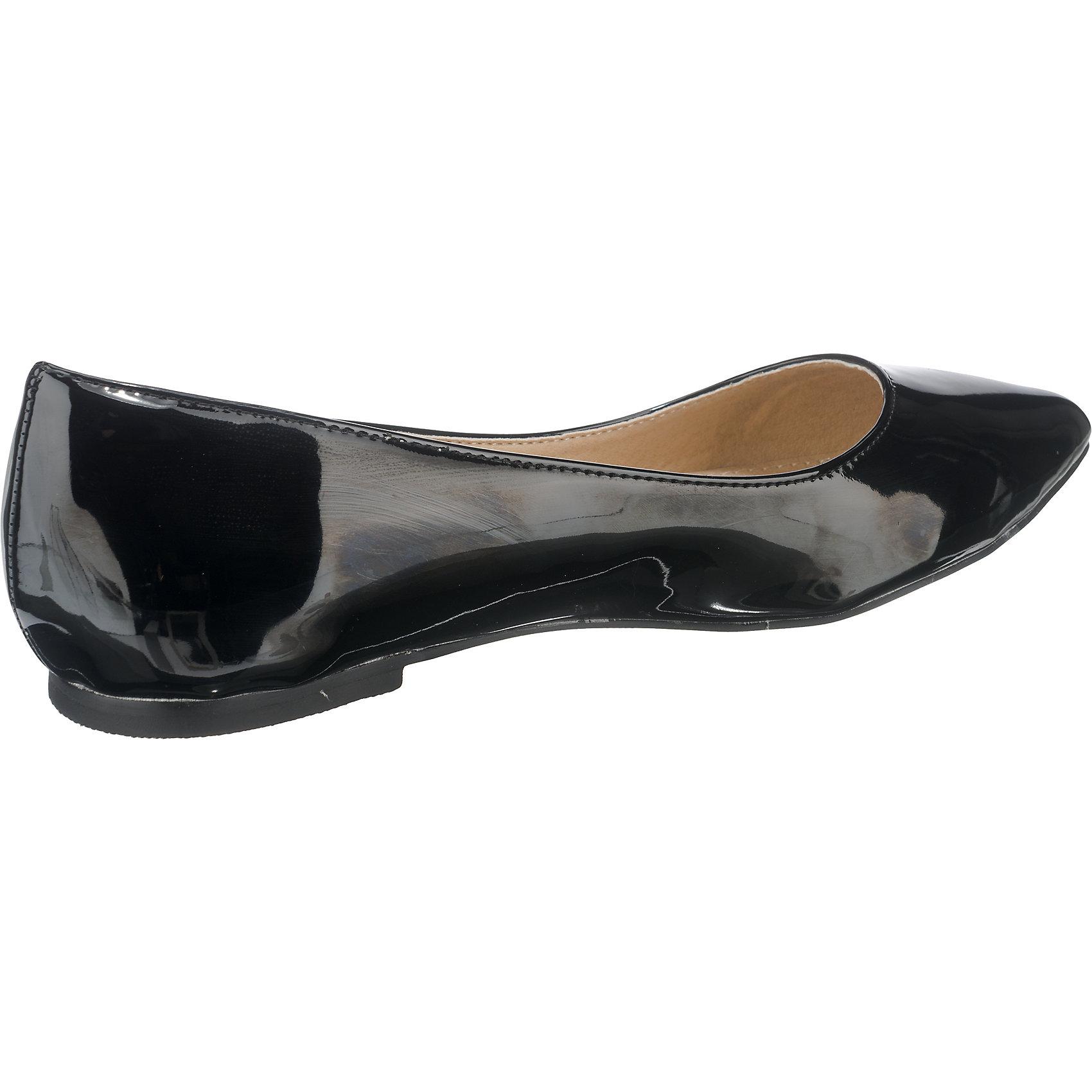 Neu BUFFALO Damen Klassische Ballerinas 5770818 für Damen BUFFALO schwarz rot 4d7b07
