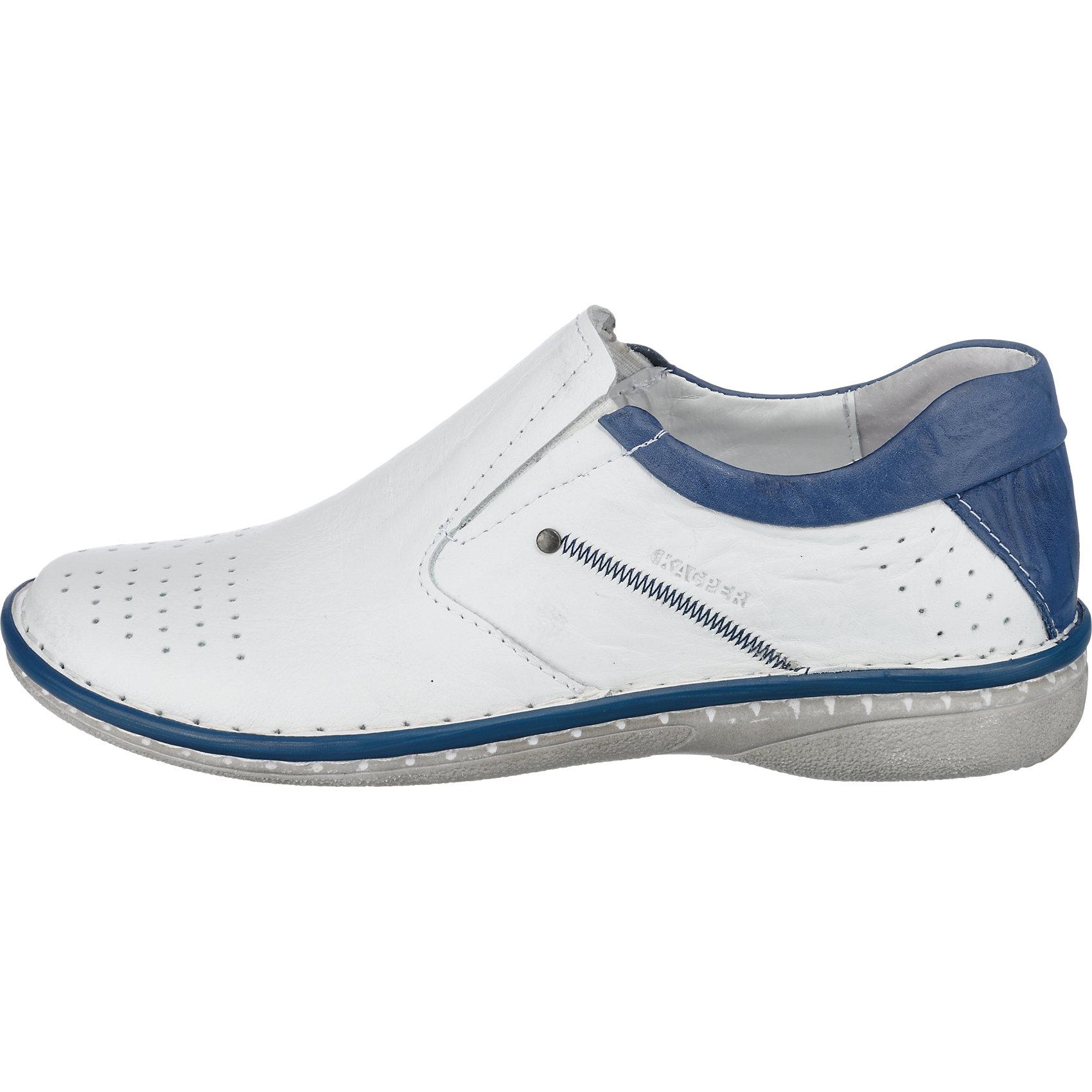 Neu Kacper Slipper 5772429 für Damen blau weiß