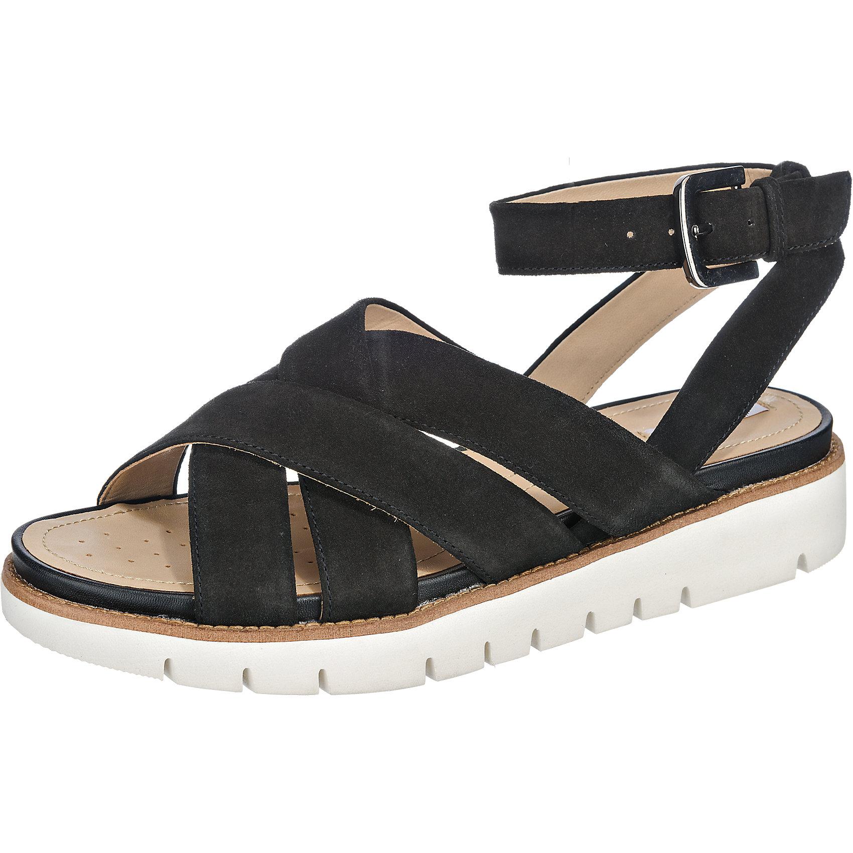 Details zu Neu GEOX Darline Sandaletten 5772945 für Damen schwarz