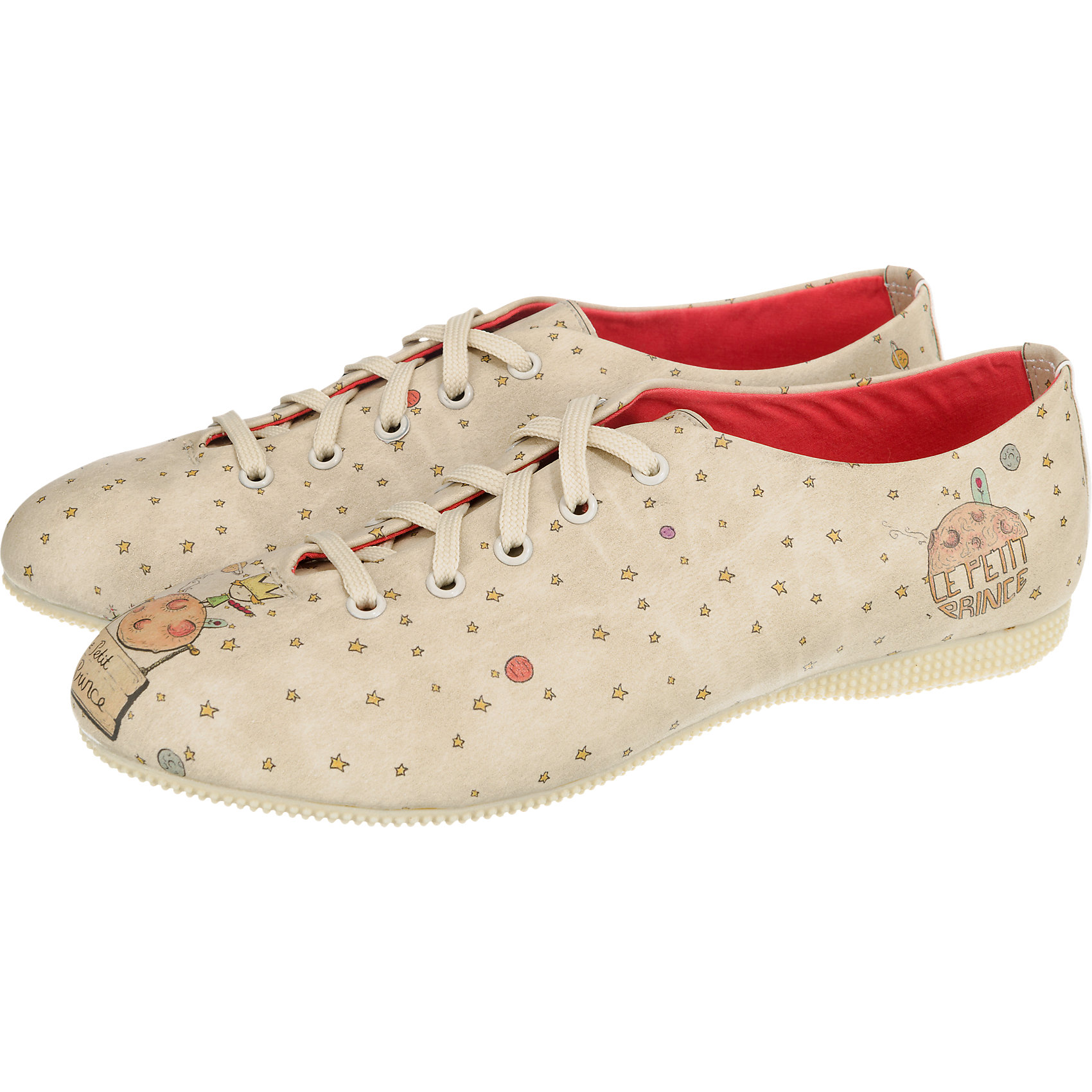 Details zu Neu Dogo Shoes Le Petit Prince Halbschuhe 5775280 für Damen mehrfarbig